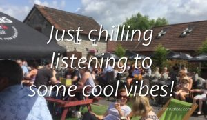 just chilling cool vibes