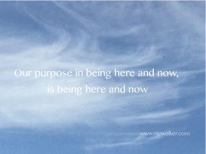 purposeinbeinghereandnow